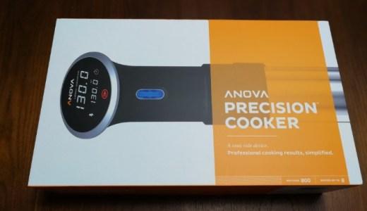 Anova Precision Cookerで低温調理にチャレンジ