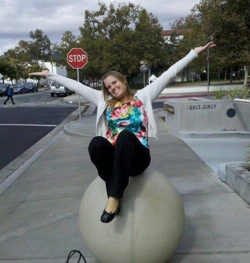 Tamara in college