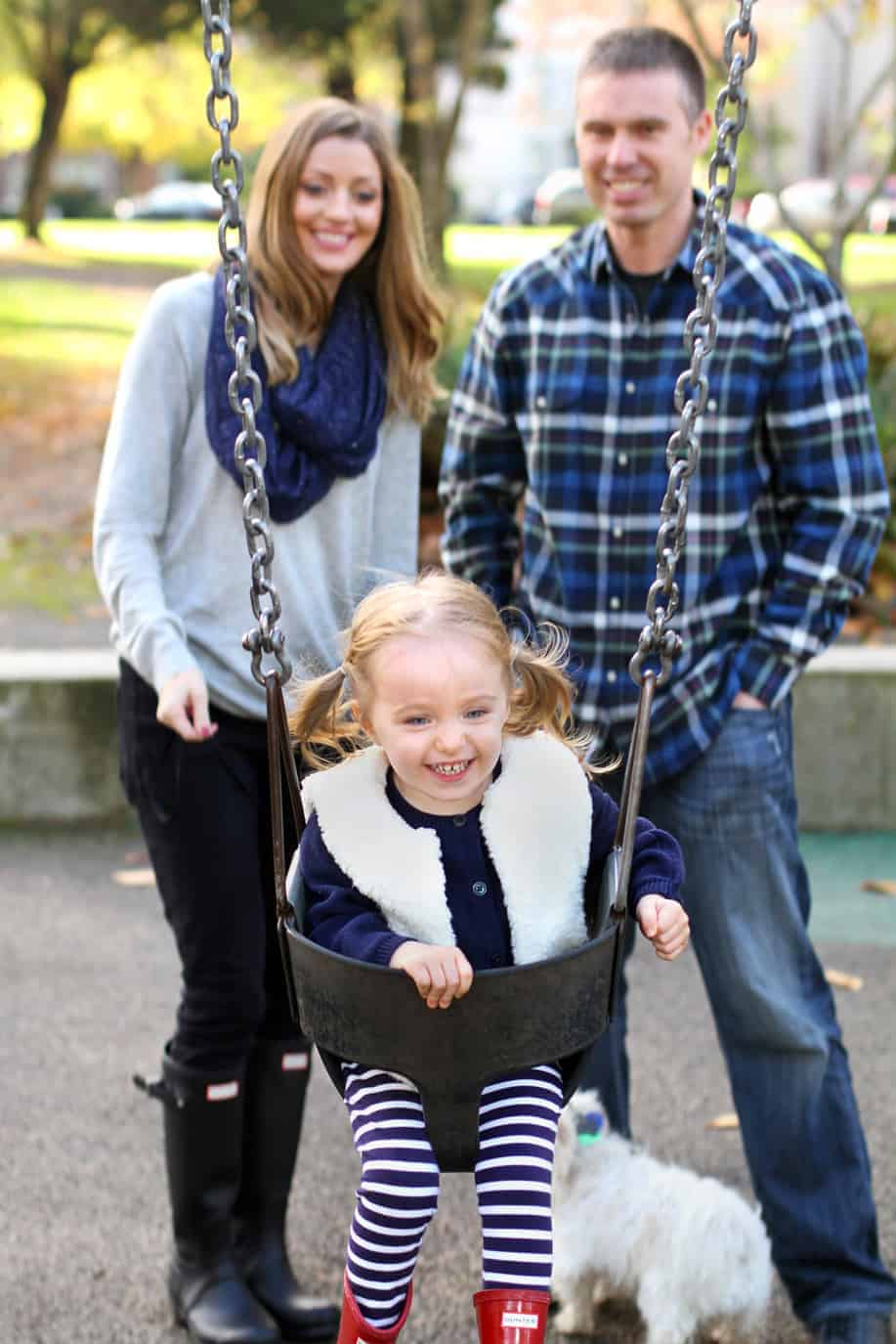 Wright Park Family Photo Shoot