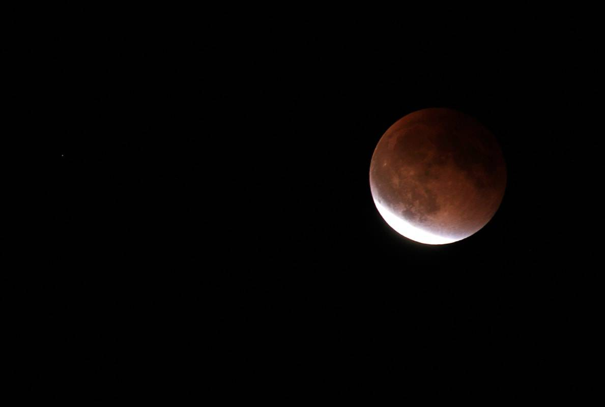 Total Lunar Eclipse of a Supermoon