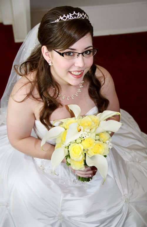 bridal portrait photo