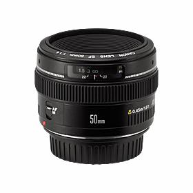 canon 50mm EF lens