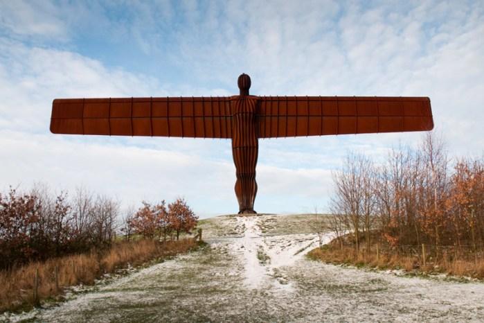 Newcastle Engeland - Angel of the North