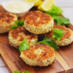 Easy tuna fishcakes with potato and a hint of chilli