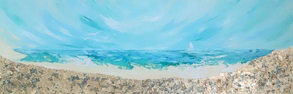 ציור חוף הזהב