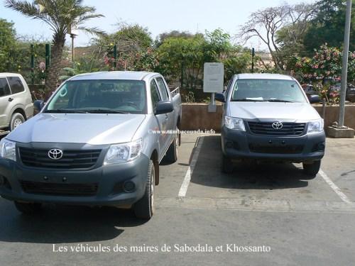 voitures-maires-de-Sabodala-et-Khossanto
