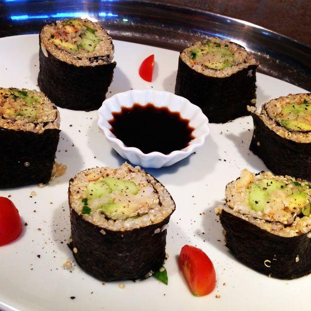 Maki de quinoa