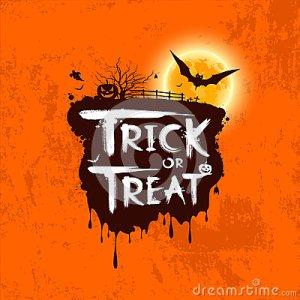 message-de-des-bonbons-ou-un-sort-de-halloween-34267993