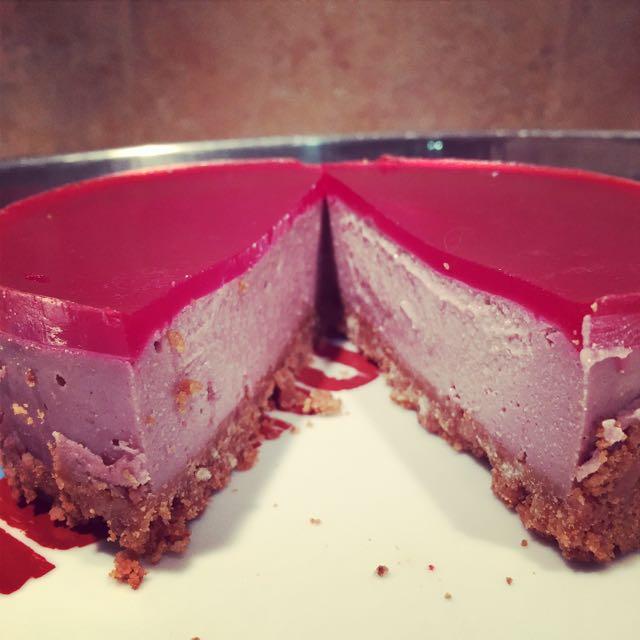 No Cheesecake Framboises
