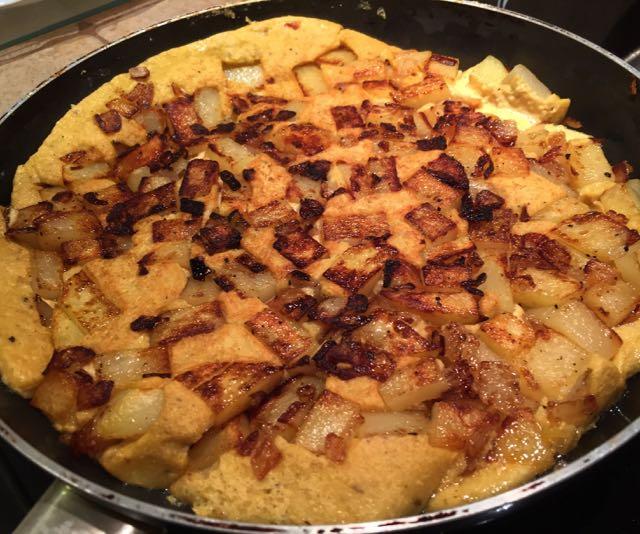 Frittata (ou Tortilla) Végétale
