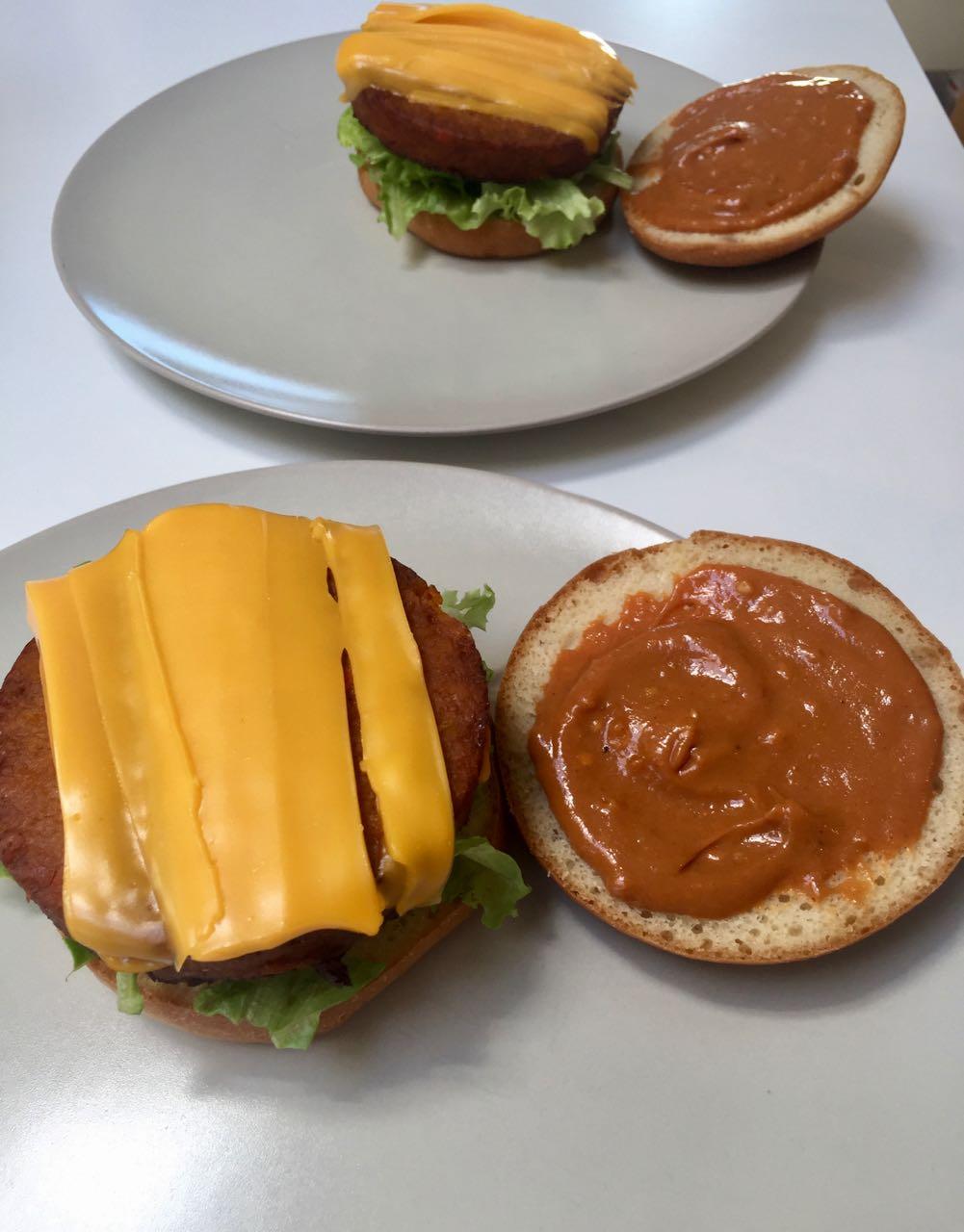 Sauce curry express pour Burger