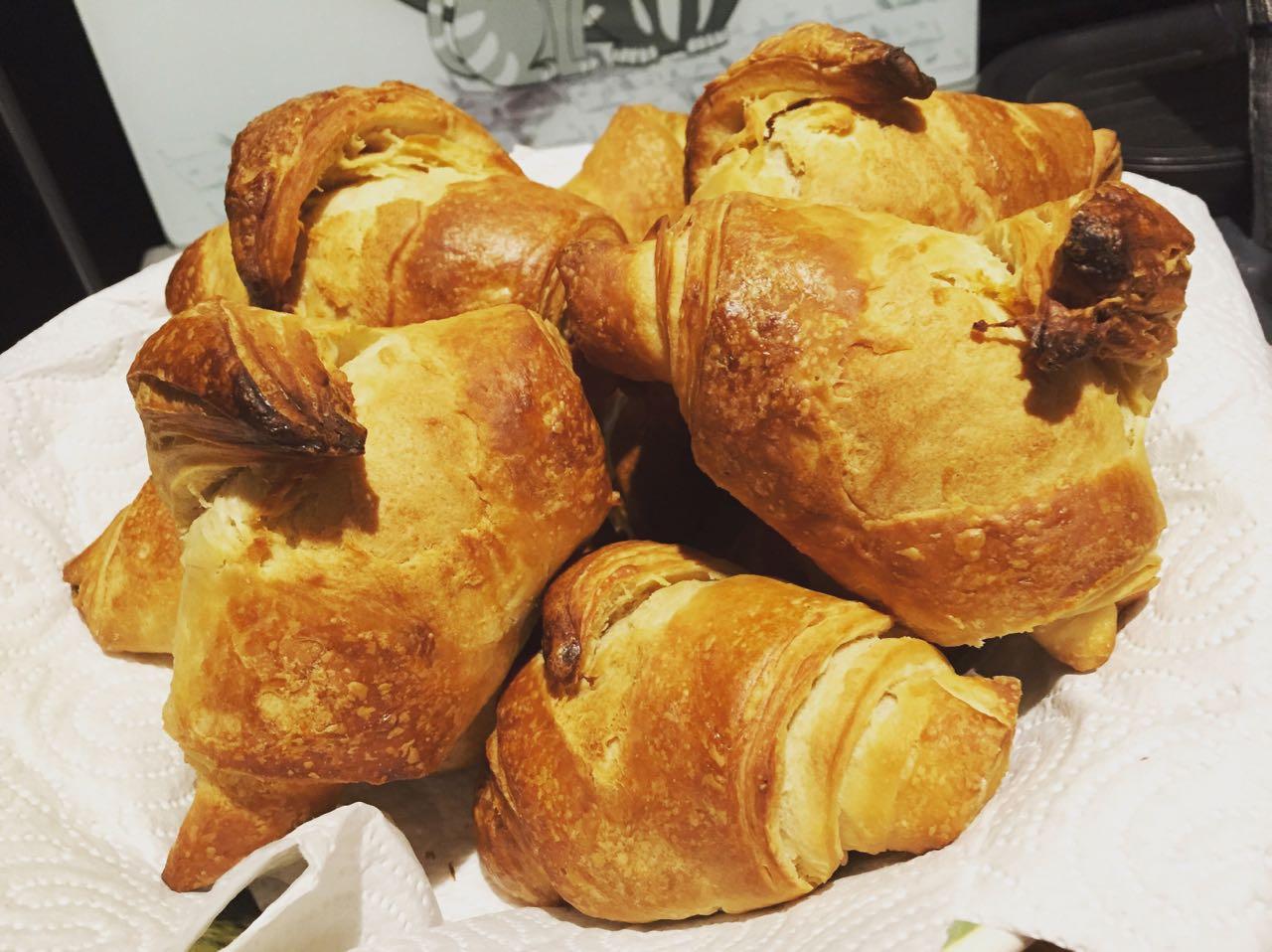 Croissants à l'Epeautre