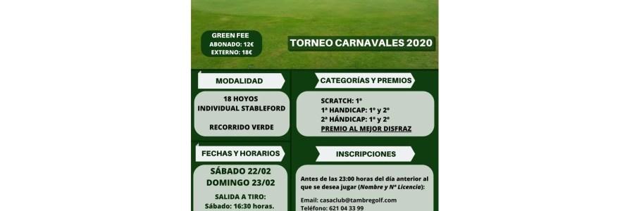 TORNEO CARNAVALES 2020