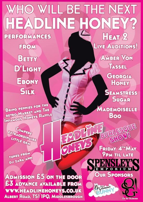 May H Factor Poster - Headline Honeys