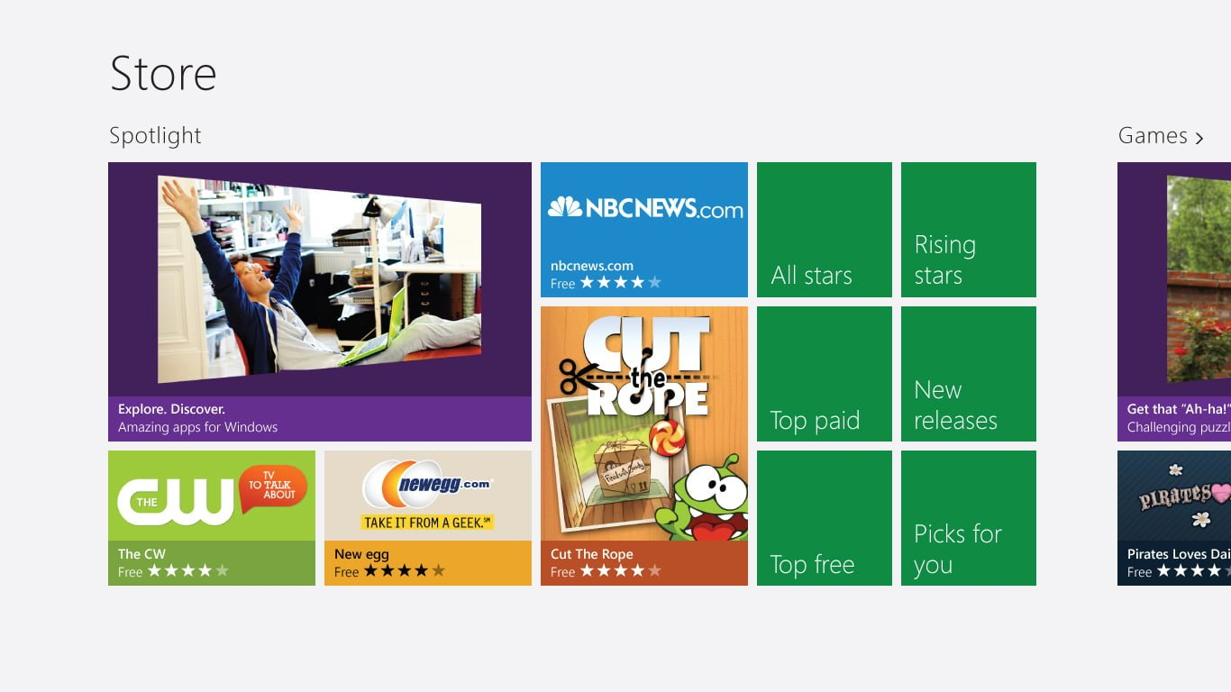 Windows Apps Store