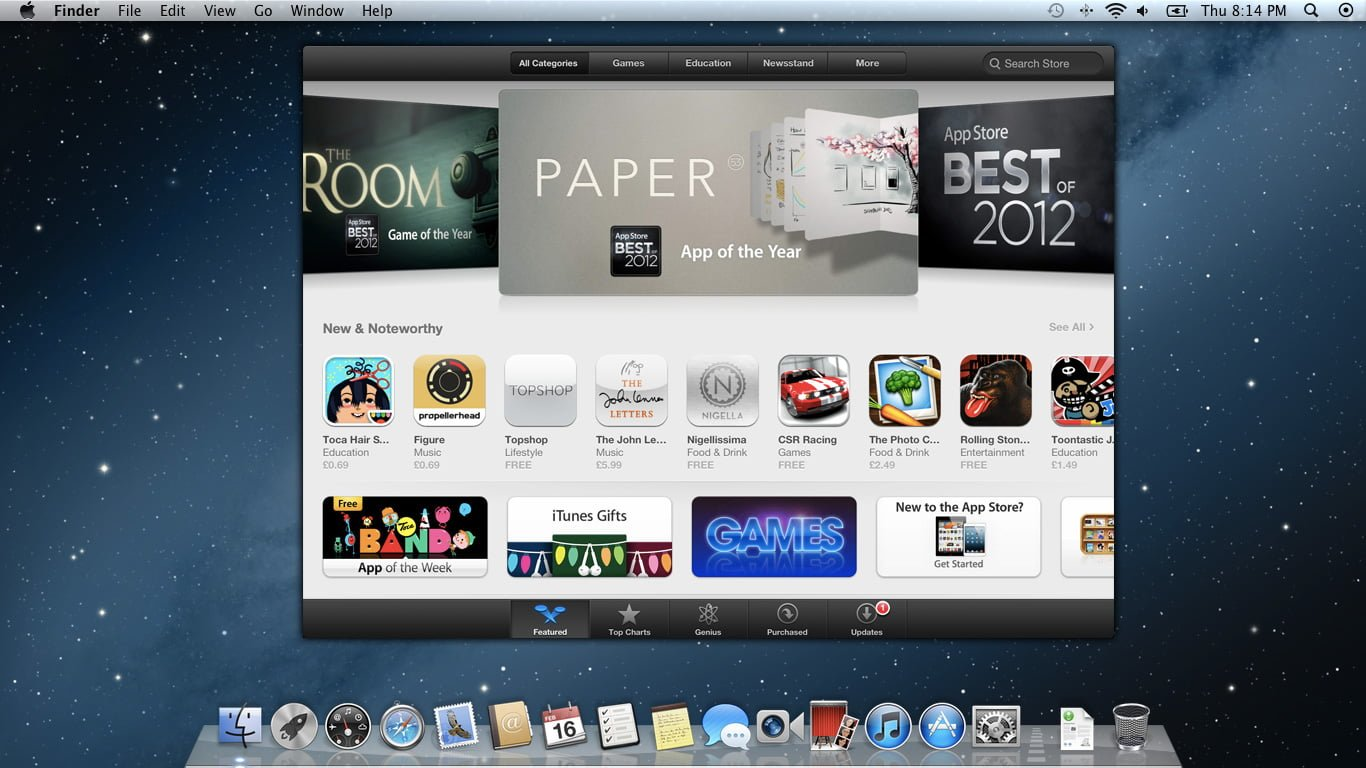 iOS Apps in OS X