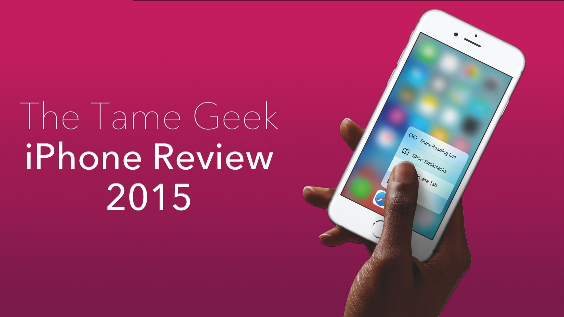 iPhone Review 2015