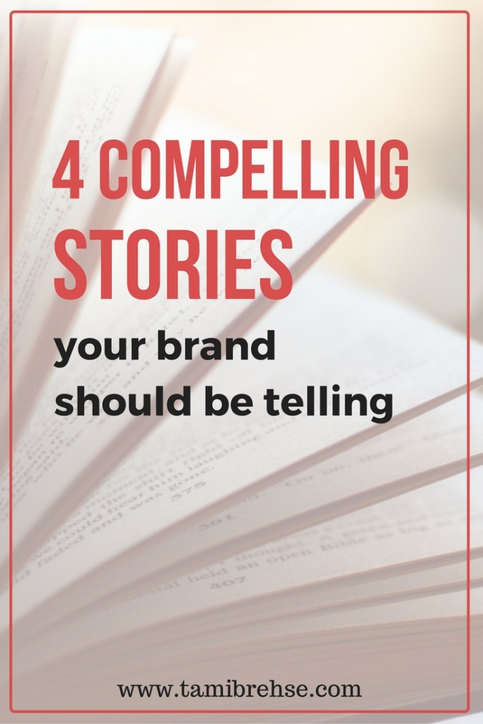 Storytelling is a surefire way to gain followers and convert readers into customers and fans. Here are 4 ways to use it when marketing your business!