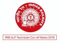 RRB ALP Technician Cut-off Mark 2018