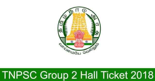 TNPSC Group 2 Admit card