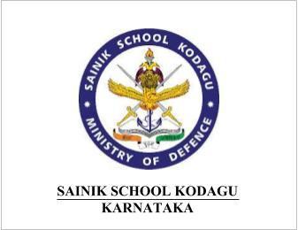 Sainik School Kodagu Recruitment 2019 – Apply Online 04 Horse Riding Instructor Posts