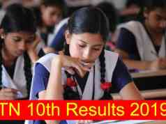 TN 10th result 2019