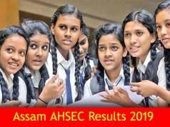 Assam AHSEC Result 2019