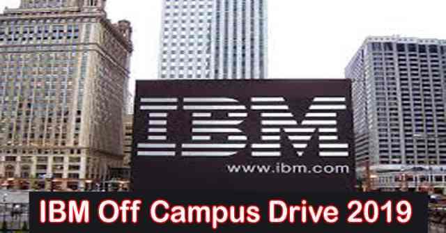 IBM Off Campus Drive 2019