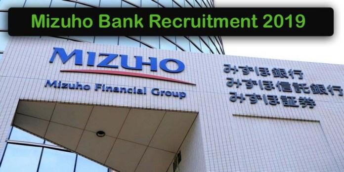 Mizuho Bank Recruitment 2020