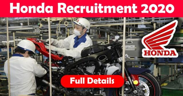 Honda Recruitment