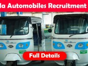 kerala automobiles recruitment