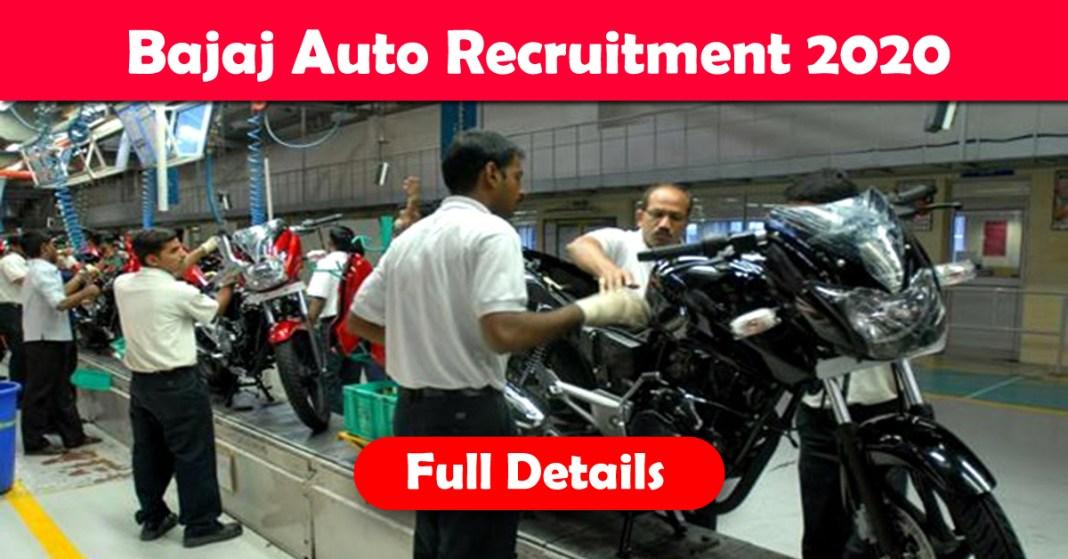 Bajaj auto recruitment