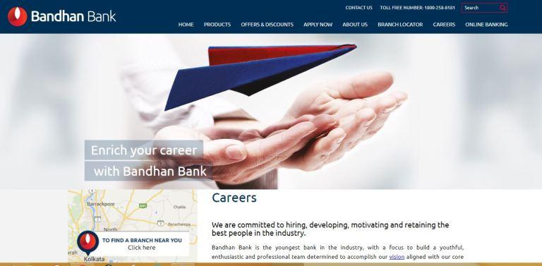 Bandhan Bank Recruitment 2020 – Apply 5000+ Fresher job Openings