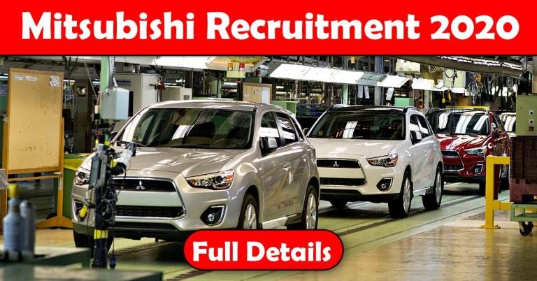 Mitsubishi Recruitment 2020: 100+ Fresher & experienced Job Openings