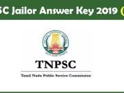 TNPSC Jailor Answer Key 2019