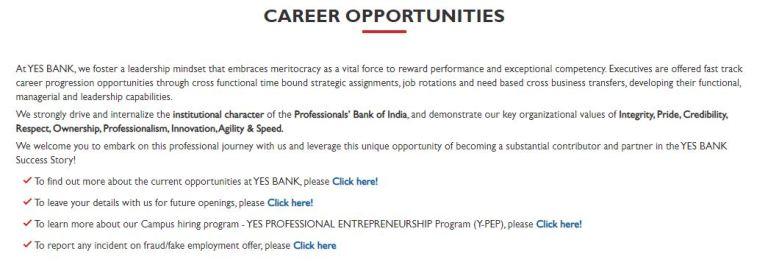 YES Bank Recruitment 2020 – Apply 3000+ Fresher job Openings
