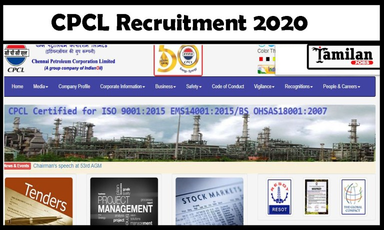 CPCL Recruitment 2020 Out – Apply 142 Apprentice Jobs
