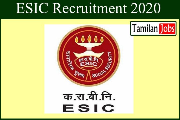 ESIC Delhi Recruitment 2020 Out – Apply 15 Specialist Grade III Jobs