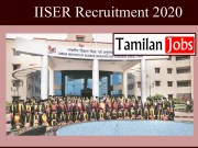 IISER Recruitment 2020