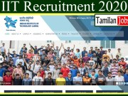 IIT Recruitment 2020