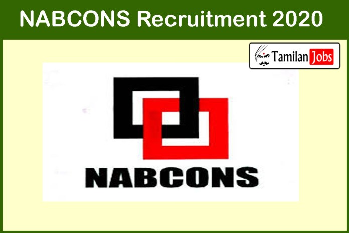 NABCONS Recruitment 2020