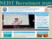 NEIST Recruitment 2020