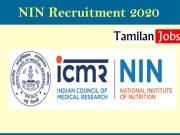 NIN Recruitment 2020