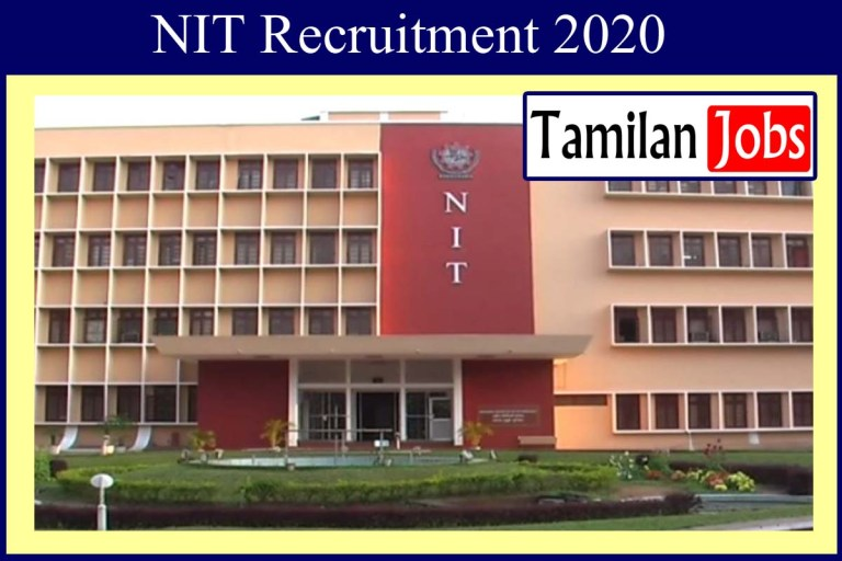 NIT Recruitment 2020 Out – Degree Candidates Apply For Project Associate Jobs