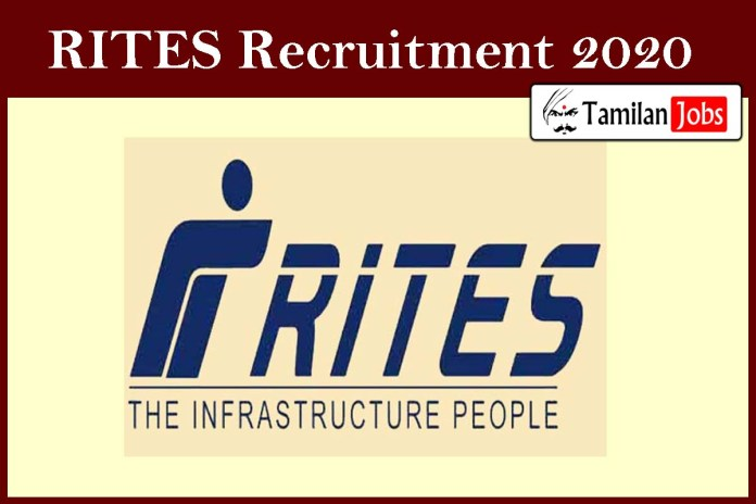 RITES Recruitment 2020 Out – Apply Online General Manager Jobs