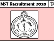 SCTIMST Recruitment 2020