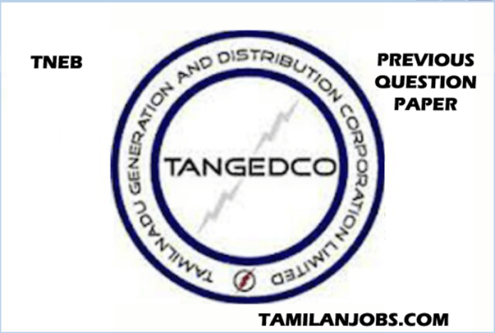 TNEB AE Previous Year Question Paper | TANGEDCO Download PDF