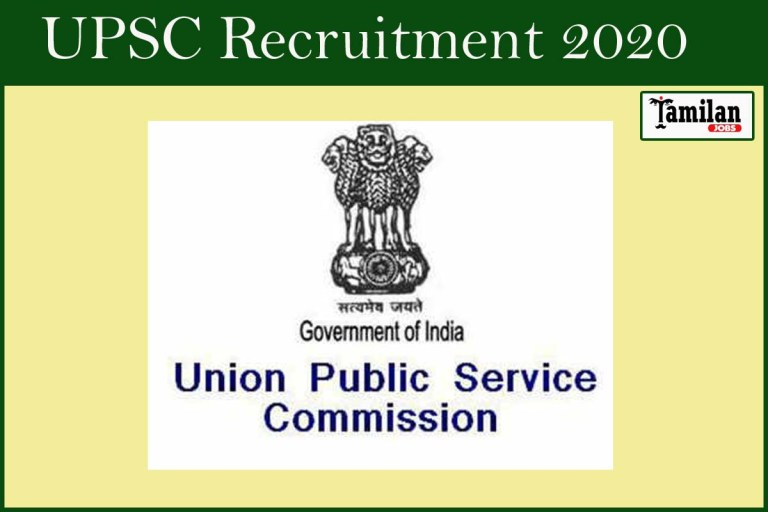 UPSC  Recruitment 2020 Out – Apply 345 Combined Defence Services Jobs