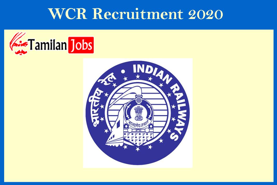 wcr recruitment 2020