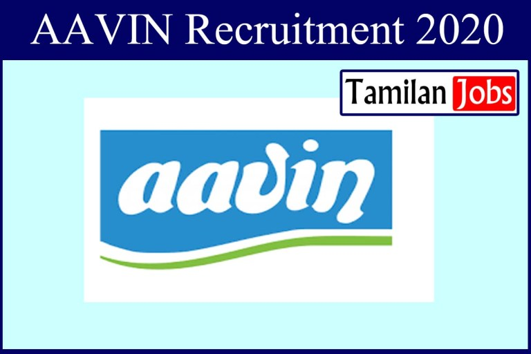 Aavin Coimbatore Recruitment 2020 Out – B.V.Sc Completed Candidates Can Apply For  Veterinary Consultant Jobs